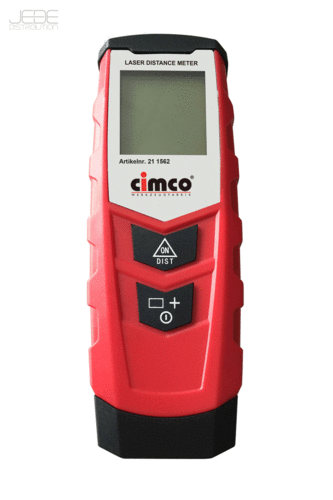 Appareil laser numérique de mesure de distance (0,05-20m) - CIMCO 211562