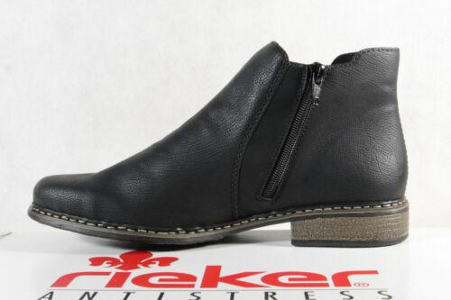 Rieker Stiefelette Stiefel Boots Stiefeletten schwarz Z4994 NEU