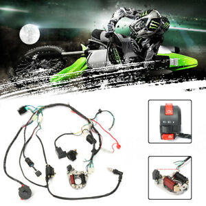 CDI-Wire-Harness-Wiring-Loom-Coil-Rectifier-For-50-70cc-90cc-110cc-ATV-Quad