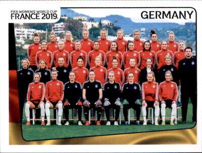 EntrüCkung Panini Frauen Wm 2019 Sticker 101 - Team - Deutschland