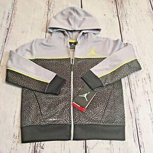 Details about NWT Nike Air Jordan Jumpman Therma Fit Pullover Sweatshirt Hoodie Boys Jacket