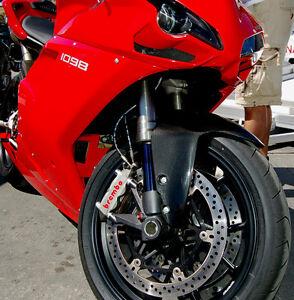 Ducati 1098 1198 848 Front Fender Mudguard Fairing Carbon Fiber