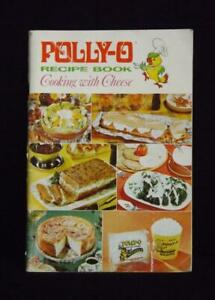 Polly o recipe book cooking with cheese 1968