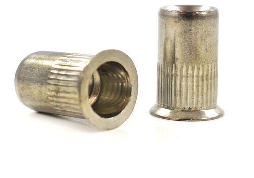 In acciaio inox Rivetto con svasatura Rivnuts Scanalato Dadi M3 M4 M5 M6 M8 M10 M12