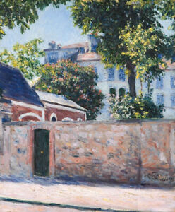 Houses-In-Argenteuil-Gustave-Caillebotte-Painting-Print-Canvas-Giclee-Repro-8x10