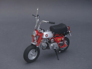 1/10 Ebbro Honda Monkey Z50a 1970-rouge - 1/12 - 10018 - 142051-afficher Le Titre D'origine Forfaits à La Mode Et Attrayants