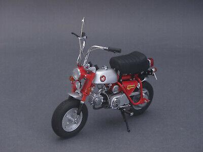 1/10 Ebbro Honda Monkey Z50a 1970-rosso - 1/12 - 10018 - 142051-mostra Il Titolo Originale Belle Arti