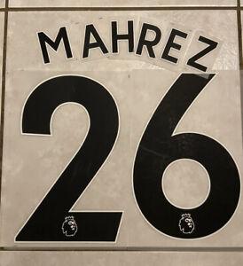 Flocage Nameset MAHREZ #26 Manchester City 2019-2020  Third