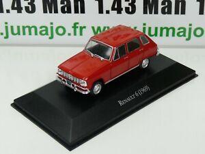 ARG27B-Voiture-1-43-SALVAT-Autos-Inolvidables-Renault-6-1969