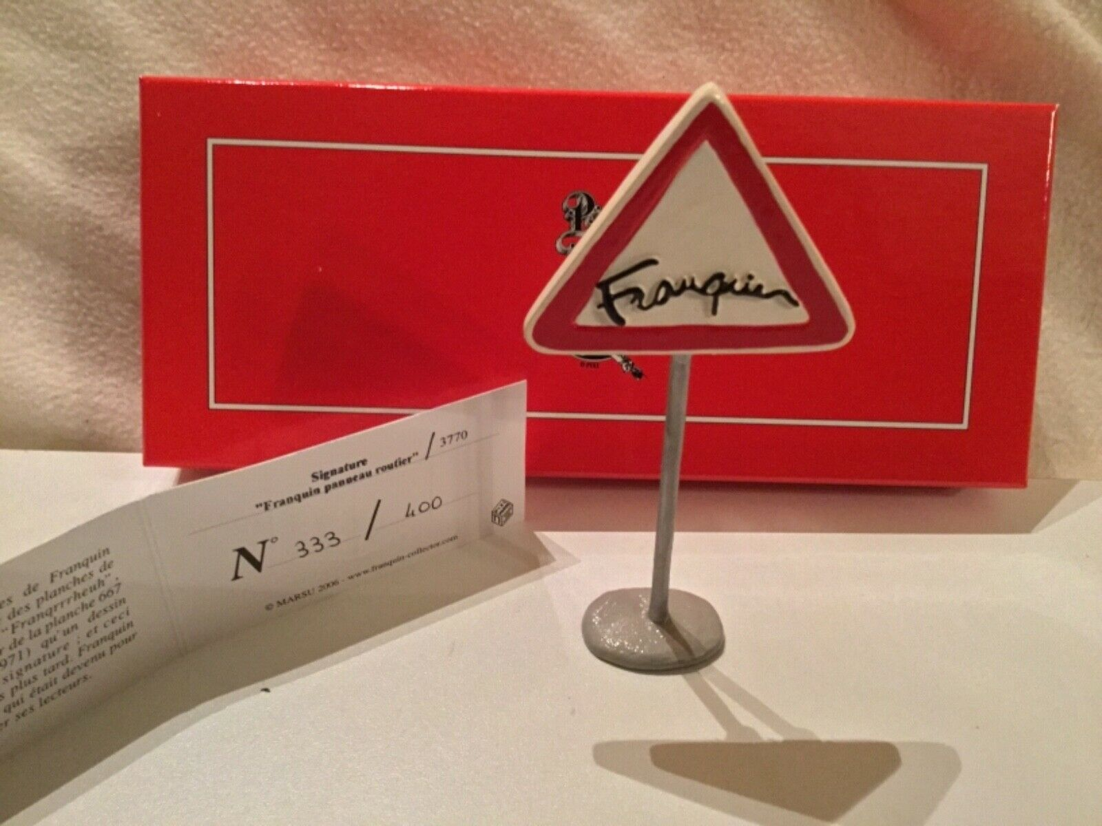PIXI Franquin Signature Le panneau routier REF 3770