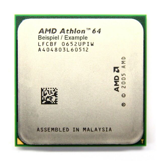 AMD Athlon 64 2850e 1.80GHz/512KB 64Bit Socket/Socket AM2 ADJ2850IAA4DP 22W CPU