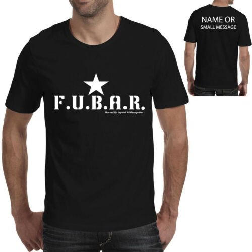 Fubar Funny Airsoft Paintball Printed T-shirt Fathers day Fathers day