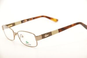 b25c74333d5 Image is loading New-Authentic-Lacoste-L-2174-234-Brown-Tortoise-