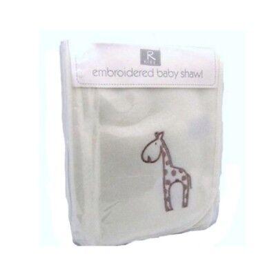 Natural 75 x 100cm Elli /& Raff Baby Cellular Blanket