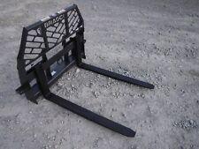 Bradco Signature Series 48 Long 5500 Pound Pallet Forks Fits Skid Steer Loader