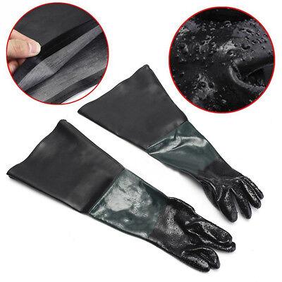 4 Pcs 24 Quot Rubber Sand Blast Sandblasting Gloves Protective