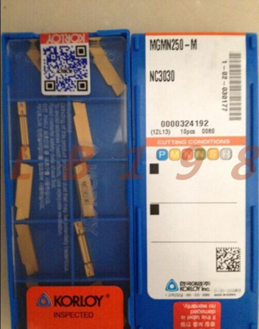 MGMN400-M NC3020 carbide Milling blade inserts carbide inserts MGMNN 400 10P
