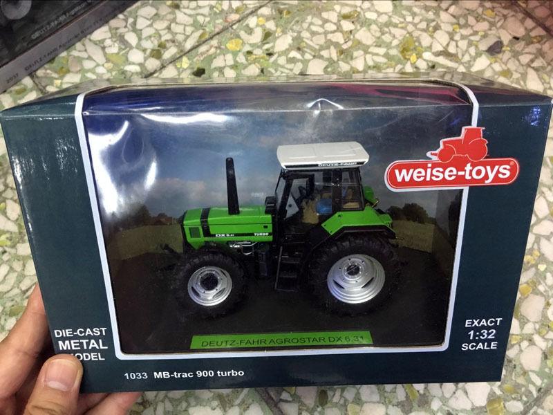 DEUTZ-FAHR AGROSTAR DX 6.31 1 32 Scale DieCast By Weise-toys