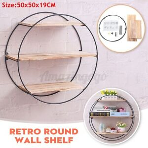 3-Tiers-19-7-034-Round-Floating-Wooden-Wall-Shelf-Wood-Shelves-Hanging-Storage-Rack