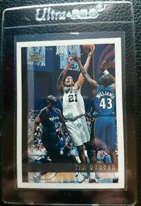 Details About 1997 98 Topps 115 Tim Duncan Rookie Card Rc San Antonio Spurs Mint