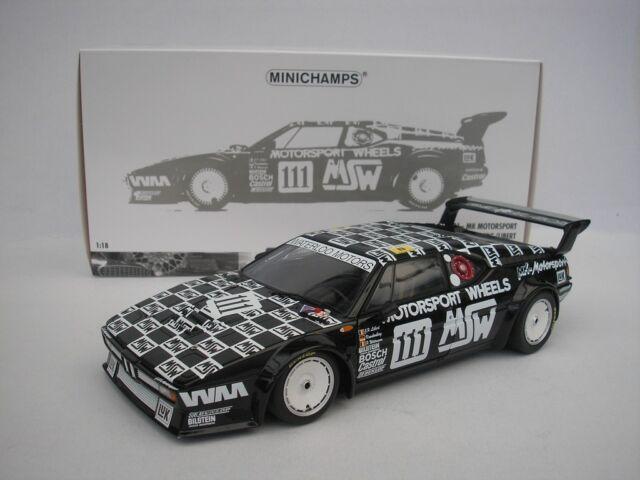 BMW M1 #111 24h le Mans 1986 Witmeur 1/18 minichamps 180862911 New