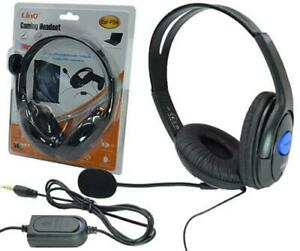 Cuffie-Compatibili-XL-Gaming-Per-Playstation-4-Ps4-E-Pc-Con-Microfono-hsb