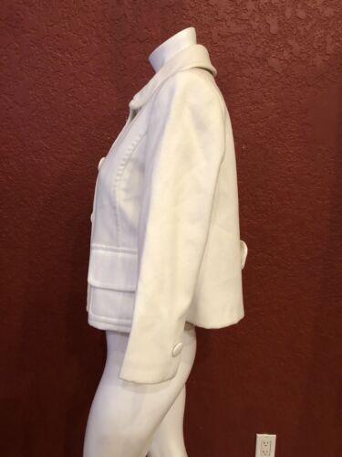 Italy Made Jakke Rinascimento Størrelse In Hvid Beskåret S giacca naqOX