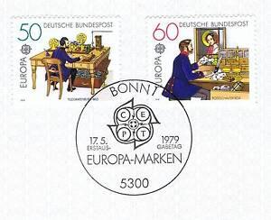 Intelligent Rfa 1979: Europe Marques: Poste Et Commémoratif Nº 1011 + 1012! 1a! 156-afficher Le Titre D'origine