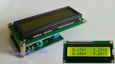 Dual Display LCD Multimeter Voltage Current Power Capacity Resistance Time Meter