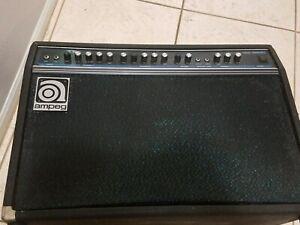Ampeg-SS-140C-Guitar-Bass-Amplifier-Amp-Reverb-Vintage-Clean-Tested-Vintage