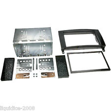 CT23VW02A VOLKSWAGEN CRAFTER 2006 ONWARDS BLACK DOUBLE DIN FACIA ADAPTER KIT