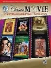 Classic Movie Instrumental Solos for Strings: Violin, Book & CD by Alfred Music (Paperback / softback, 2010)