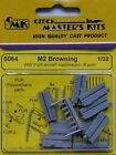 CMK 1/32 M2 Browning 2ND GUERRE MONDIALE US Aircraft mitrailleuse x 6 # 5064