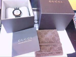 2b145863323 NICE Ladies Gucci Watch Swiss Made U-Play 129.4. EXTRA BLUE OSTRICH ...