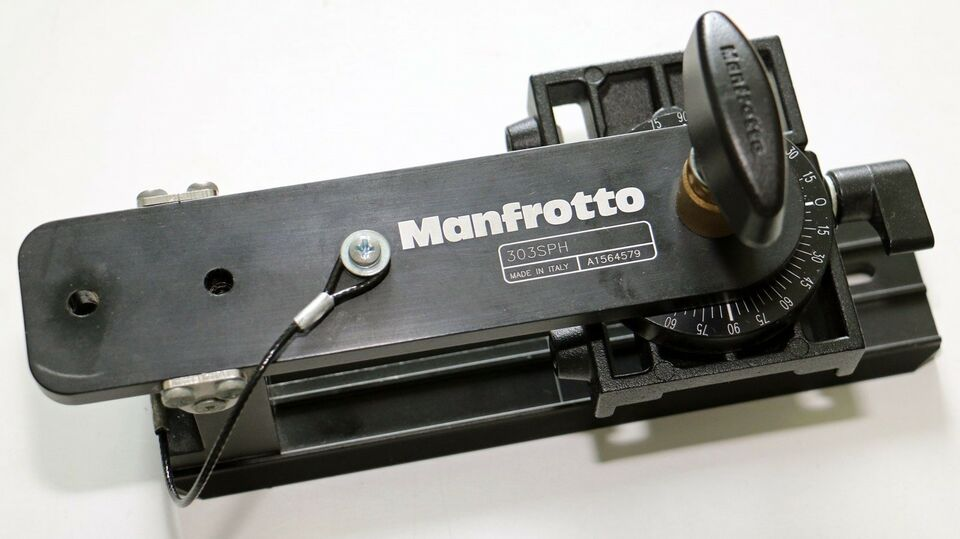 Foto stativ hoved, Manfrotto, 303 SPH