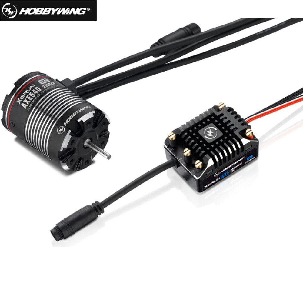 Hobbywing Xecorrere Axe  Brushless energia System Foc AXE540 1200KV 1800KV 2300KV Motor  grandi offerte