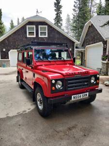 Restored 1995 Land Rover Defender 110-300 TDI Turbo Diesel