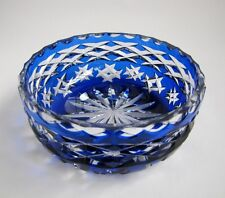 Coupe Cristal Taillé St Louis ou Baccarat style Bohemian Crystal