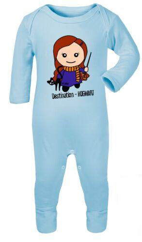 Harry Potter Hermine Granger 0-24 Body Strampler Overall Baumwolle Geschenk Baby