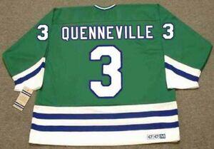 d3895e818 Image is loading JOEL-QUENNEVILLE-Hartford-Whalers-1988-CCM -Vintage-Throwback-