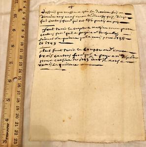 1749-Italian-Document-Government-Legal-Paper-Record-Authentic-Manuscript-Antique