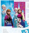 Telo Mare Piscina Bagno Principesse Frozen Elsa Anna 150x75 Disney Caleffi