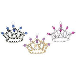 Beadworx-porte-clés Princess Crown-perles Travail Populaire Perles De Verre-afficher Le Titre D'origine La Consommation RéGulièRe De Thé AméLiore Votre Santé