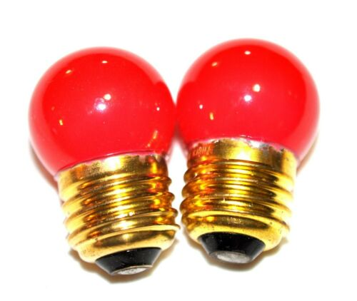 NEW DARKROOM SAFE LIGHT BULB for MEDICAL AND PHOTO DARKROOMS SET OF 2.