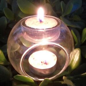 Elegant-Tea-Light-Glass-Candle-Holders-Wedding-Table-Centrepiece-Wax-Pillar-Case