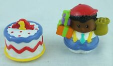 Fisher Price Little People Birthday Party Cake #1 Boy Figure Topper