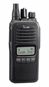 ICOM-F1000S-Waterproof-VHF-136-174MHz-Two-Way-Radio-w-Program-Software-amp-Cable
