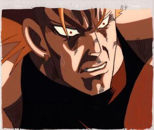 Jojo-039-s-Bizarre-Adventure-Anime-Cel-Douga-Animation-Art-Dio-Face-Up-1993-OVA