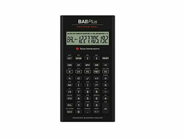 Texas Instruments BA-II Plus Professional