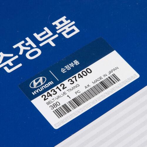 Genuine OEM Hyundai Kia Engine Timing Belt for 1999-2010 V6 2.7L 24312-37400